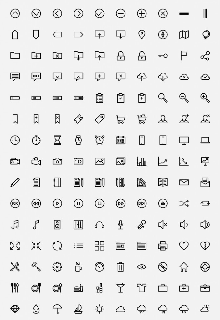 150.outlined.icons(www.limoographic.com)