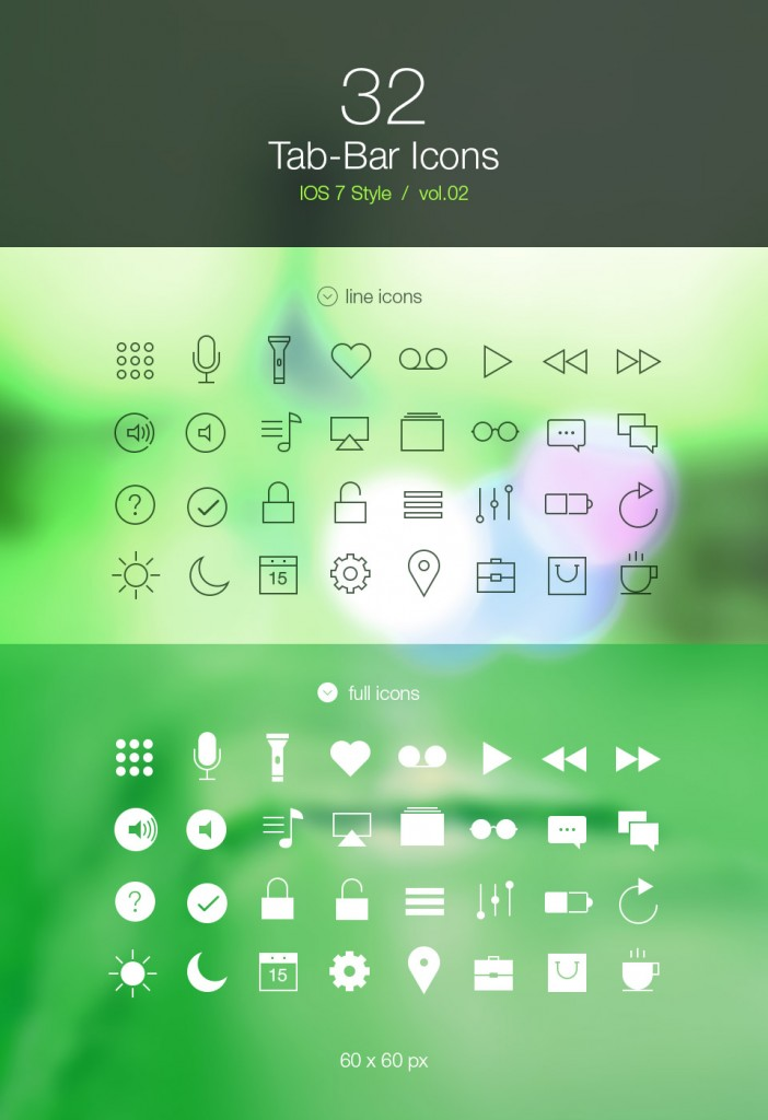 60x60.Tab.bar.icons.ios7(www.limoographic.com)