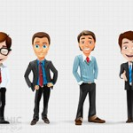 Businessman_Vector_Character_Set