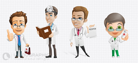 Male_Doctor_Vector_Characters_Set_small_preview