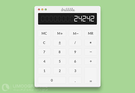calculator-psd