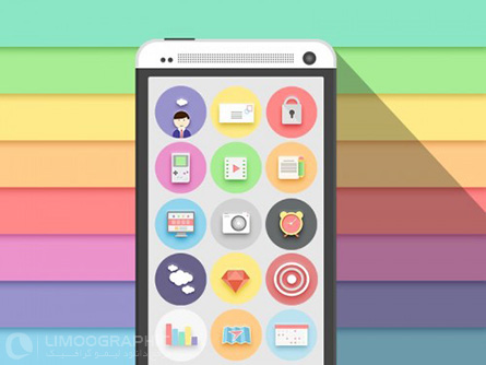 Colorful-Flat-Icon-Set-PSD-limoographic.com