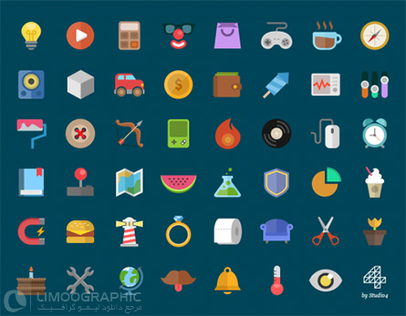 Colorful-Flat-Icons-Free-PSD-limoographic