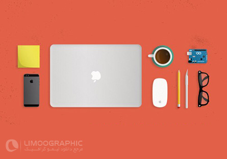 Work-Area-Desk-Objects-PSD-limoographic.com