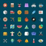 Colorful Flat Icon